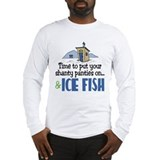 Shanty Panties Ice Fish Long Sleeve T-Shirt