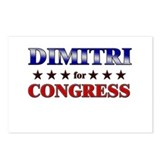 DIMITRI for congress Postcards (Package of 8)