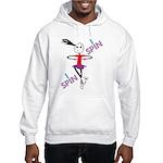 i spin i jump Hooded Sweatshirt