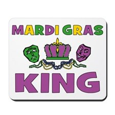 Mardi Gras King Mousepad