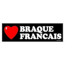 BRAQUE FRANCAIS Bumper Bumper Sticker