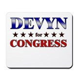 DEVYN for congress Mousepad