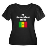 #1 Senegalese Mom Senegal Women's Plus Size Scoop