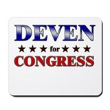 DEVEN for congress Mousepad