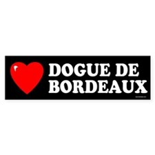 DOGUE DE BORDEAUX Bumper Bumper Sticker
