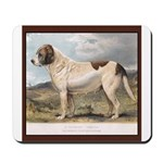 Antique St Bernard Smooth Portrait Mousepad