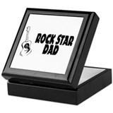 Rock Star Dad Keepsake Box