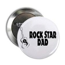 "Rock Star Dad 2.25"" Button"