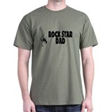 Rock Star Dad T-Shirt