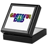 Grateful Dad Keepsake Box