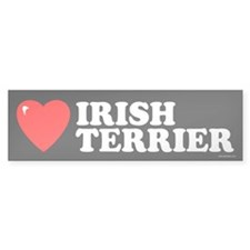 IRISH TERRIER Bumper Bumper Sticker