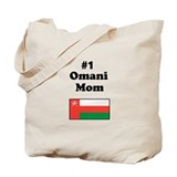 #1 Omani Mom Tote Bag