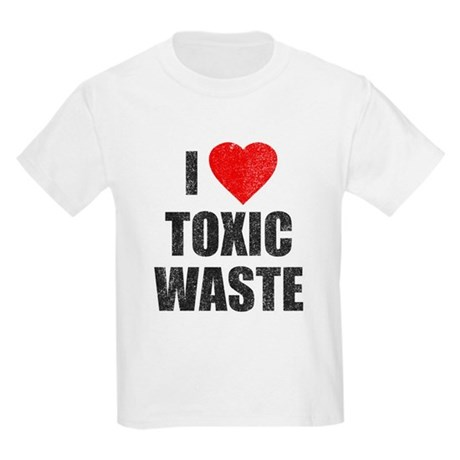 I Love [Heart] Toxic Waste Kids Light T-Shirt
