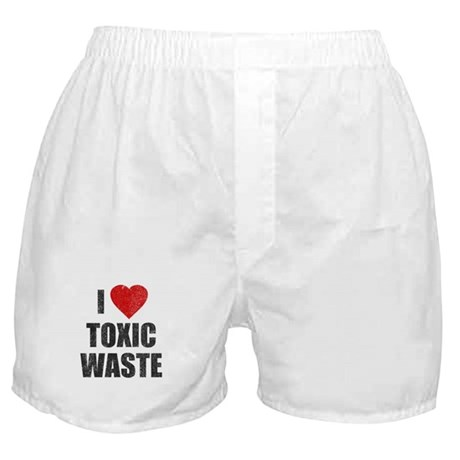 I Love [Heart] Toxic Waste Boxer Shorts