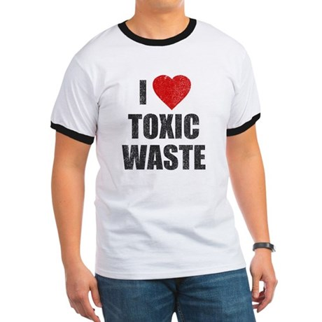 I Love [Heart] Toxic Waste Ringer T