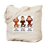 See Speak Hear No Evil Tote Bag