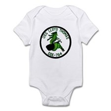 USS LLOYD THOMAS Infant Bodysuit