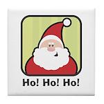 Ho, Ho, Ho Santa Tile Coaster