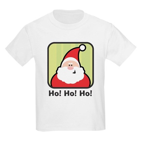 Ho, Ho, Ho Santa Kids Light T-Shirt