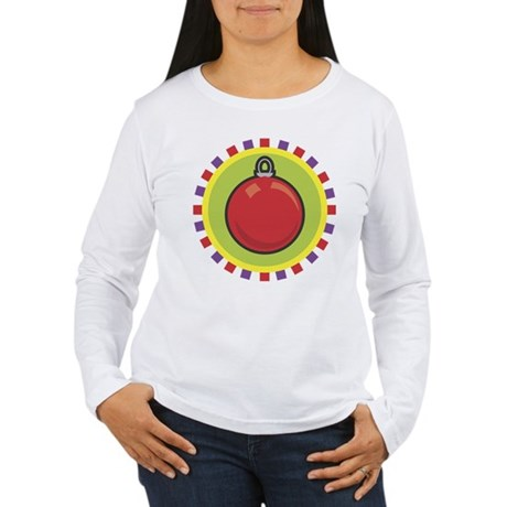 Christmas Ornament Women's Long Sleeve T-Shirt