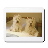 Westie Wing Mousepad
