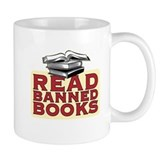 Read banned books - Small Mug