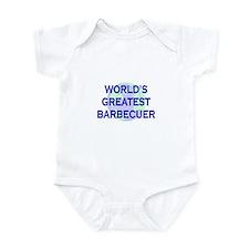 World's Greatest Barbecuer Infant Bodysuit
