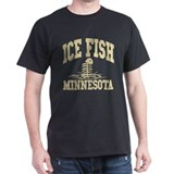 Ice Fish Minnesota T-Shirt