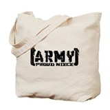 Proud Army Niece - Tatterd Style Tote Bag