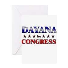 DAYANA for congress Greeting Card