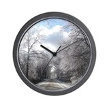 Ice storm Wall Clock