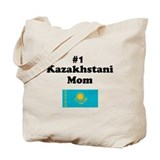 #1 Kazakhstani Mom Tote Bag