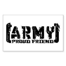 Proud Army Friend - Tatterd Style Decal