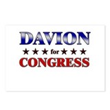 DAVION for congress Postcards (Package of 8)