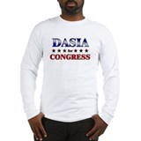 DASIA for congress Long Sleeve T-Shirt