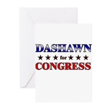 DASHAWN for congress Greeting Cards (Pk of 10)