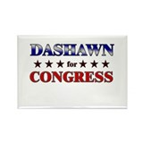 DASHAWN for congress Rectangle Magnet