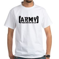 Proud Army Bro-n-Law - Tatterd Style Shirt
