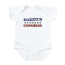 DARRIUS for congress Infant Bodysuit