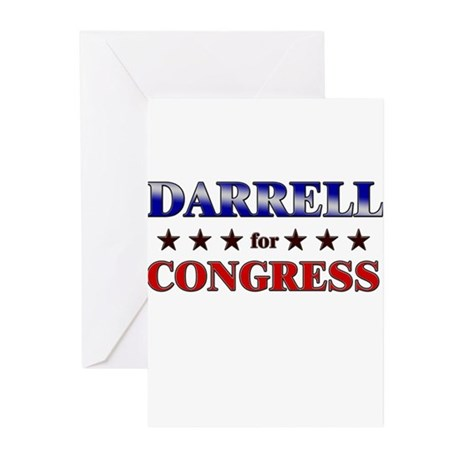 DARRELL for congress Greeting Cards (Pk of 10)