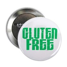 "Gluten Free 1.1 (Mint) 2.25"" Button"