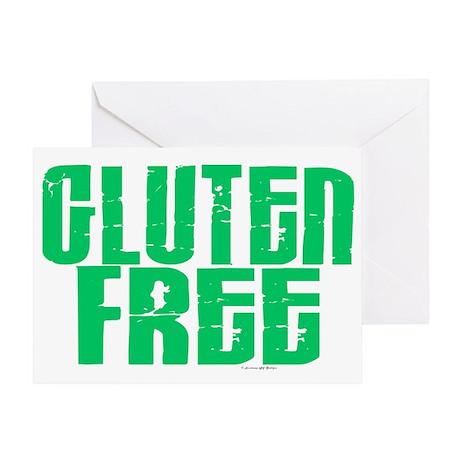 Gluten Free 1.1 (Mint) Greeting Card