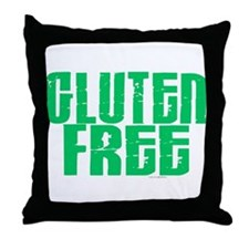 Gluten Free 1.1 (Mint) Throw Pillow