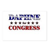 DAPHNE for congress Postcards (Package of 8)