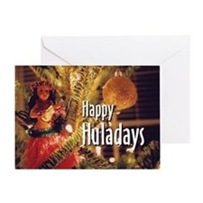 Happy Huladays Card [5 x 7]