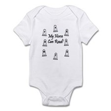 Dressage Arena Letters. Horse Infant Bodysuit