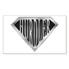 SuperHurdler(metal) Rectangle Decal