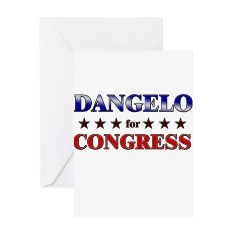 DANGELO for congress Greeting Card