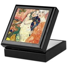 "Gustav Klimt ""Les Amies"" Keepsake Box"