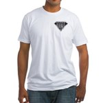 SuperRookie(metal) Fitted T-Shirt
